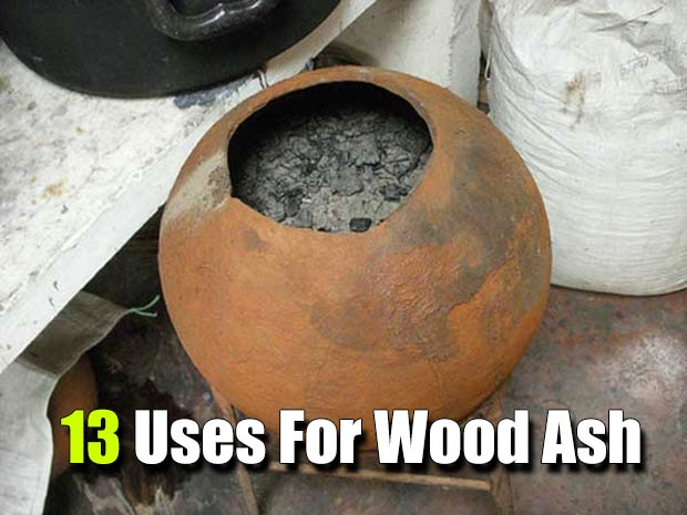 13 Uses For Wood Ash - Ever wondered what you can you do with all the ash from burning wood in your fireplace, wood stove or camp fire? Wood ash can be useful in home gardens, in your compost pile or as a pest repellent.