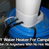 DIY Water Heater For Camping, Cabin Or Anywhere With No Hot Water