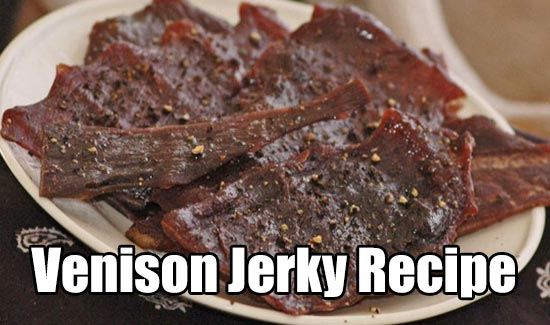 """Venison Jerky Recipe - """"Venison Jerky Recipe  https://www.shtfpreparedness.com/venison-jerky-recipe/  Let's look at the different ways food can be prepared for storage. Food can be dried, canned, freeze dried or dehydrated. You could can fresh fruit and vegetables right out of your own garden and you can buy rice and dried beans and other essentials at the grocery store, but what about meat?"""""""