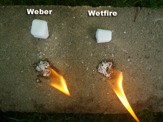 Wetfire Vs Weber Lighter Cubes SHTF Prepping Homesteading Central