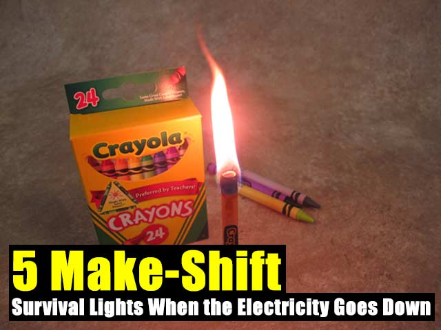 5 Make-Shift Urban Survival Lights When the Electricity Goes Down