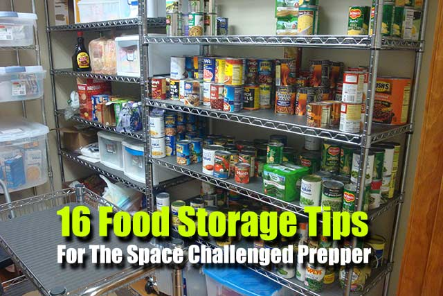 16 Food Storage Tips for the Space Challenged Prepper - One of the more common prepper ... & 16 Food Storage Tips for the Space Challenged Prepper - SHTF ...