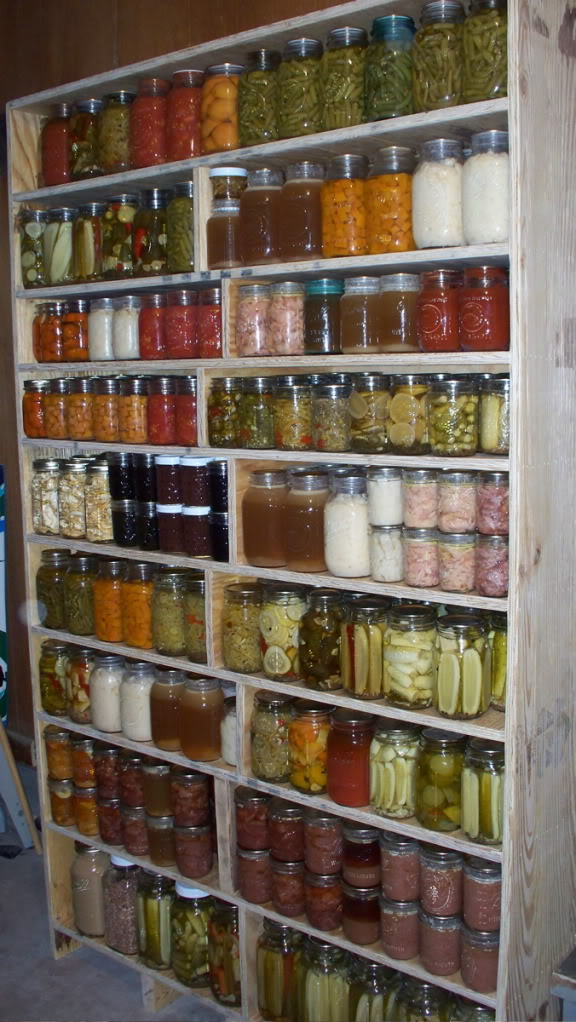 How To Build A Cabinet For Storing Canned Goods Or Heavy
