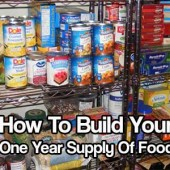 How To Build Your One Year Supply Of Food