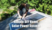 Simple DIY Home Solar Power System - If you are thinking about making the leap to solar, this is the time to do it. Financial incentives from the government will make the transition much easier and the cost of solar panels keeps coming down every day. Bottom line: solar is becoming more and more cost effective.