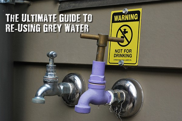 The Ultimate Guide To Re-Using Grey Water - Grey water is gently used water from your bathroom sinks, showers, tubs, and washing machines, any used water that does not contain human waste. Grey water is a safe source of irrigation water in a yard although it may look a bit dirty. In fact, it provides beneficial fertilizer to your plants.