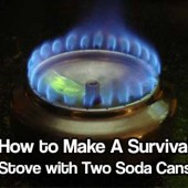 How to Make A Survival Stove with Two Soda Cans