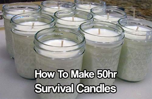 How To Make 50hr Survival Candles
