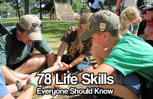 78 Skills Everyone Should Know