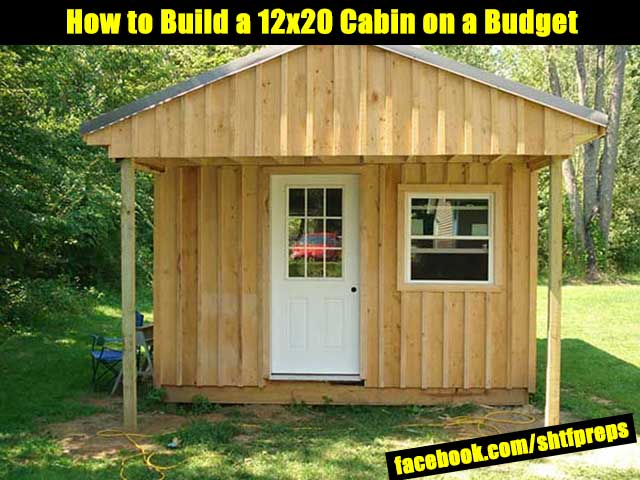 Building A Bug Out Cabin : How to build a cabin on budget shtf prepping