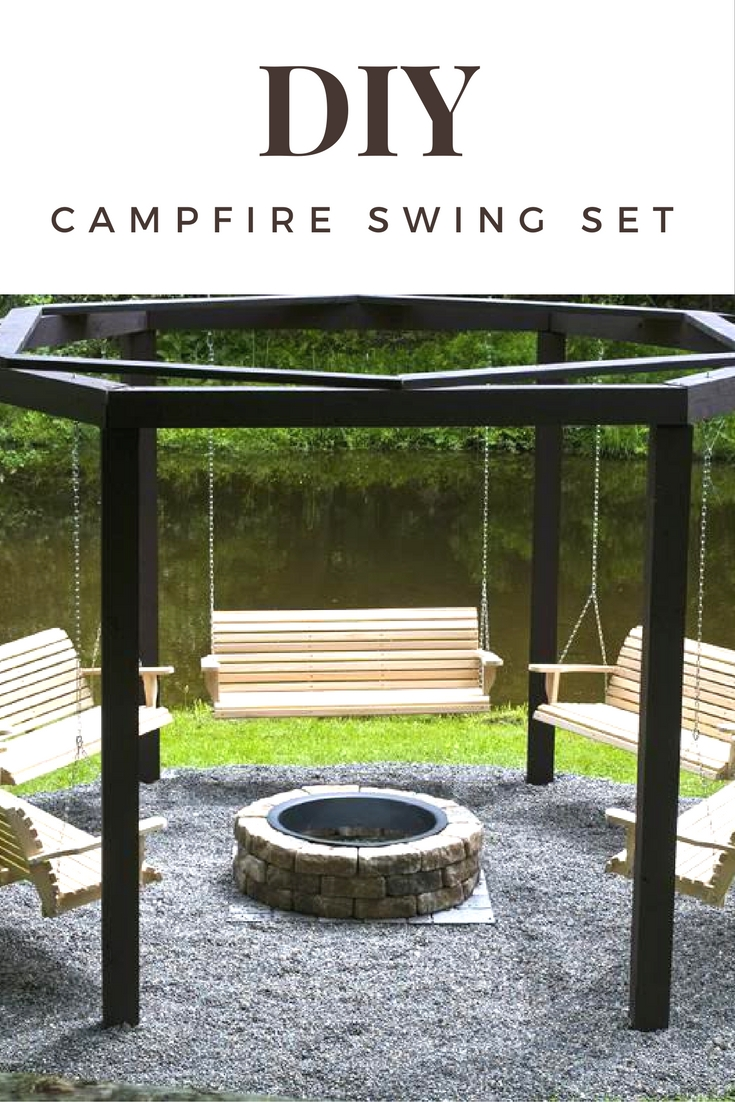 DIY Campfire Swing Set - DIY Campfire Swing Set - You should know by now that here at SHTF & Prepping Central we just love DIY projects. They are a great way to practice your self-sufficiency skills and save $$!