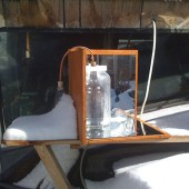 DIY Simple Solar Still That Even Works In The Winter