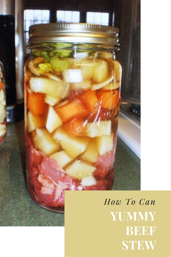 How To Can Yummy Beef Stew - Beef stew is packed with protein and carbohydrates that will fuel your body in times of joy and times of SHTF. This is a great recipe and set of instructions that show you how to make this meal in a jar. Image Credit: homesteadinghomemaker.blogspot.com