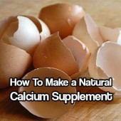 How to Make a Natural Calcium Supplement