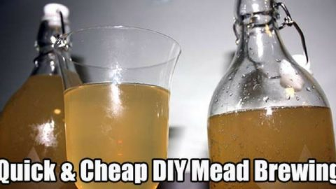 Quick and Cheap DIY Mead Brewing For The Colder Months