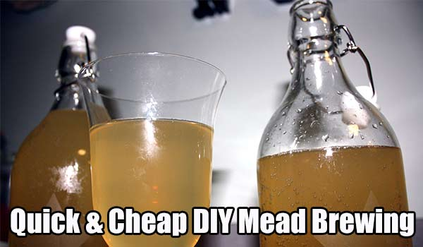 Quick & Cheap DIY Mead Brewing