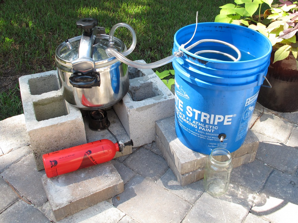 Diy Water Distiller ~ Water distillation…the quick way shtf prepping