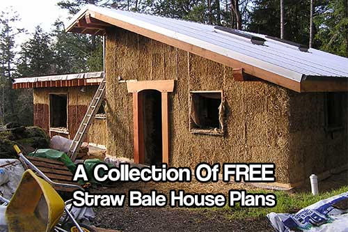 lots of free straw bale house plans shtf prepping central