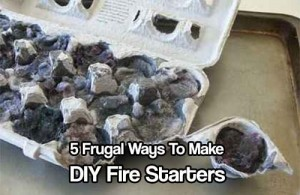 Five Frugal Ways to Make DIY Fire Starters