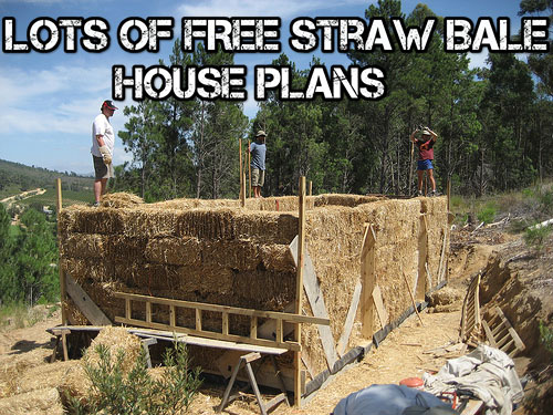 Lots Of FREE Straw Bale House Plans - SHTF & Prepping Central