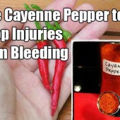 How To Use Cayenne Pepper To Stop Injuries From Bleeding - I can see why this would be a handy thing to stockpile and keep hidden away for that just in case moment, or even placing some in a bug out bag.