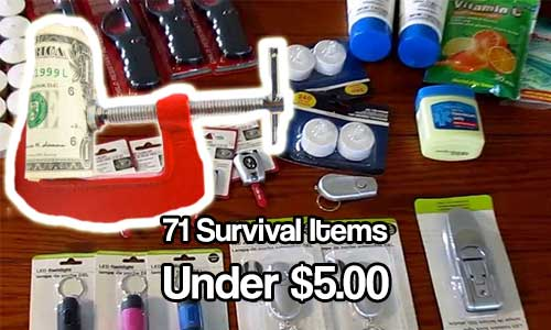71 Survival Items Under $5.00