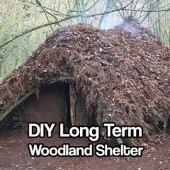 DIY Long Term Woodland Shelter