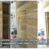 Hidden Doors, Secret Rooms, and the Hardware that makes it possible