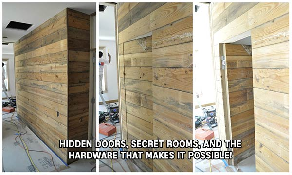 Hidden Doors, Secret Rooms, and the Hardware that makes it possible!