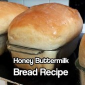 Honey Buttermilk Bread Recipe - Now Honey and buttermilk in one sentence is enough to stop me clicking away but those wonderful words in bread, well it was enough for me to make a batch.