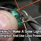 How To Make A Dollar Solar Garden Light Brighter And Use Less Power