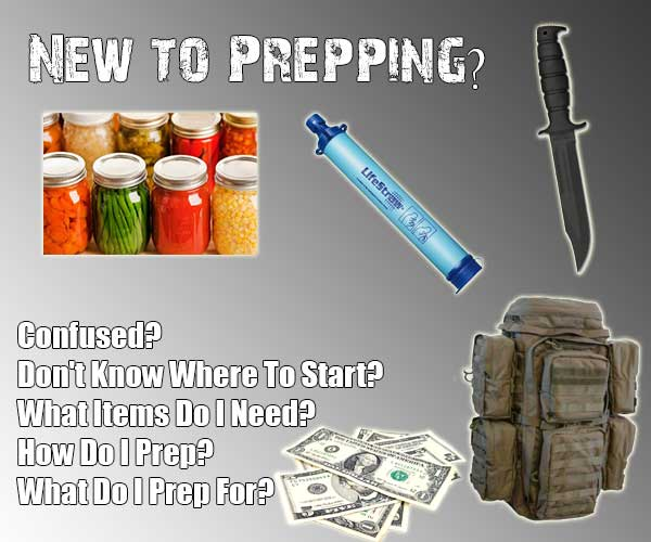 New To Prepping? Start Here :)