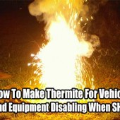 How To Make Thermite for Vehicle and Equipment Disabling When SHTF