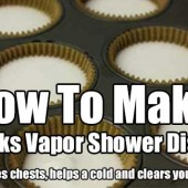 How To Make Vicks Vapor Shower Disks