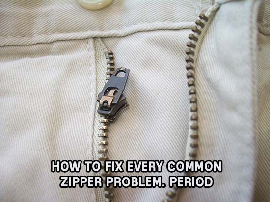 How to fix every common zipper problem period ccuart Images