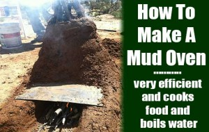 How To Build A Mud Stove