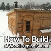 21 fitness projects you can build at home shtf for Build a wood burning sauna