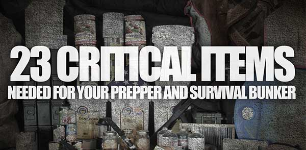 23-critical-items-for-your-survival-prepper-bunker