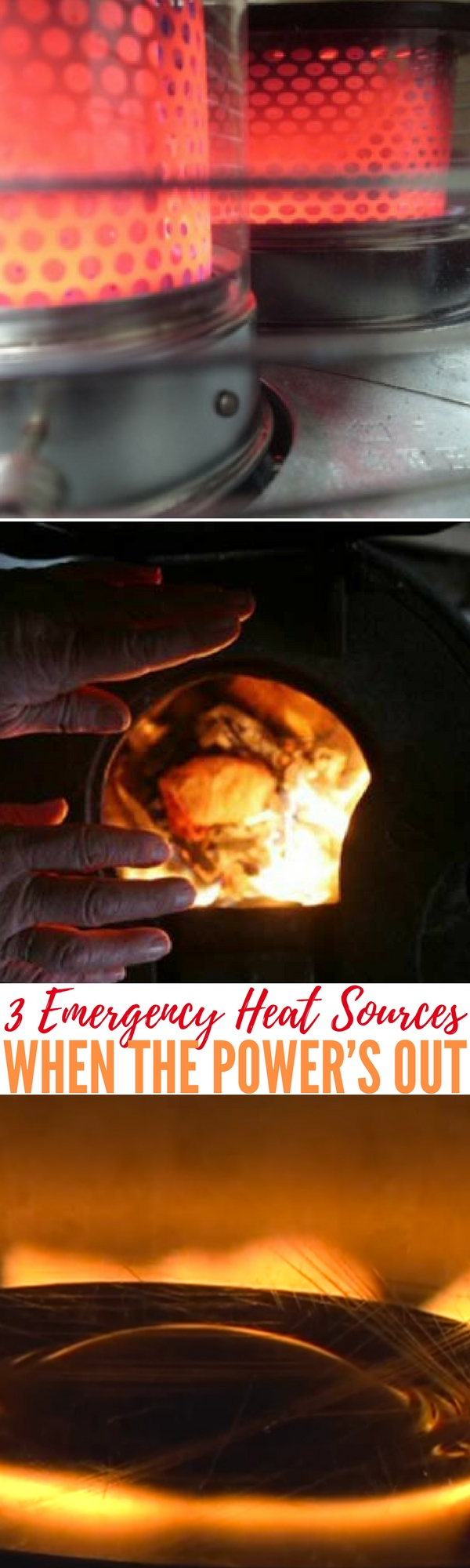 Heat Sources For Homes 3 emergency heat sources when the power's out