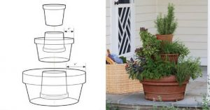 DIY Vertical Garden Design Step By Step Tutorial Instructions — Believe it or not folks, spring will be here before you know it. That means its time to start planning your garden. I can't wait to start planting my survival garden this year. I came across this awesome DIY project that I am going to be using for my herbs this year.