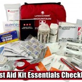 First Aid Kit Essentials Checklist