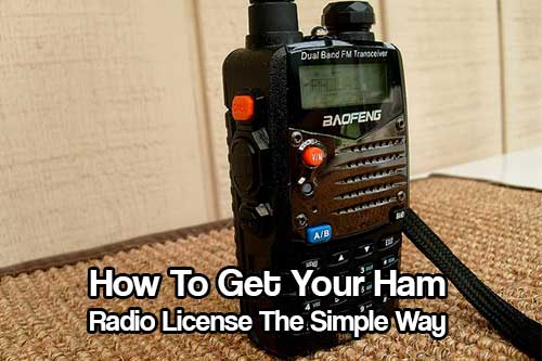 How To Get Your Ham Radio License - Investing in getting a Ham licence could mean the difference in life or death. In some cases anyway! What is a Ham Radio? A Ham radio is a way you can communicate from the top of a mountain, your home or behind the wheel of your car.