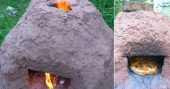 How To Make A Horno Oven — This is a great multi purpose oven, if you are camping, hiking or just surviving this Horno oven or in simple terms, a brick or stone and mud oven could cook your food, boil water so you can drink it and keep your shelter warm long after the flames go out.