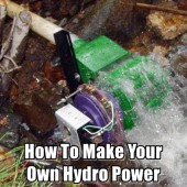 How To Make Your Own Hydro Power
