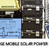 DIY Large Mobile Solar Power System