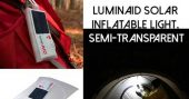 LuminAID Solar Inflatable Light, Semi-Transparent — I have to say this piece of kit is awesome! It requires no batteries and can light up an area better than a flashlight! I know you can make a similar one of these yourself with a headlamp and a milk jug full of water but if you were bugging out that wouldn't be good to carry along as its heavy and cumbersome.