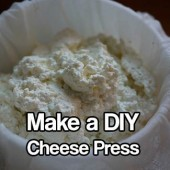 Make a DIY Cheese Press For Home