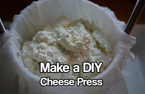 Make A Diy Cheese Press For Home Shtf Amp Prepping Central