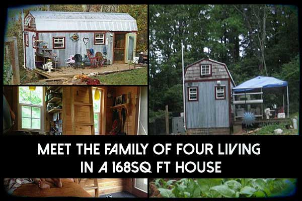 Meet The Family Of Four Living In A 168ft² House