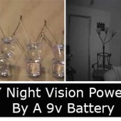 DIY Night Vision Powered By A 9v Battery